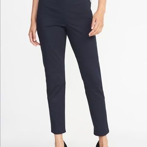 NWT Navy High-Rise Super Skinny Ankle Pants